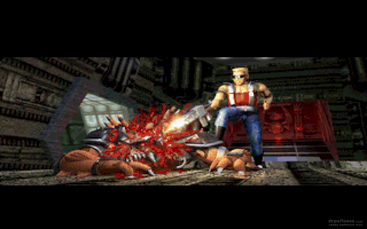 Скриншот к игре Duke Nukem 3D