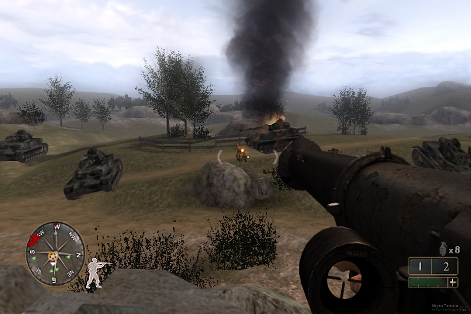 Скриншот к игре Call of Duty 2: Big Red One
