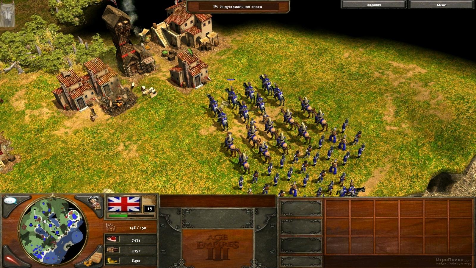 Скриншот к игре Age of Empires III