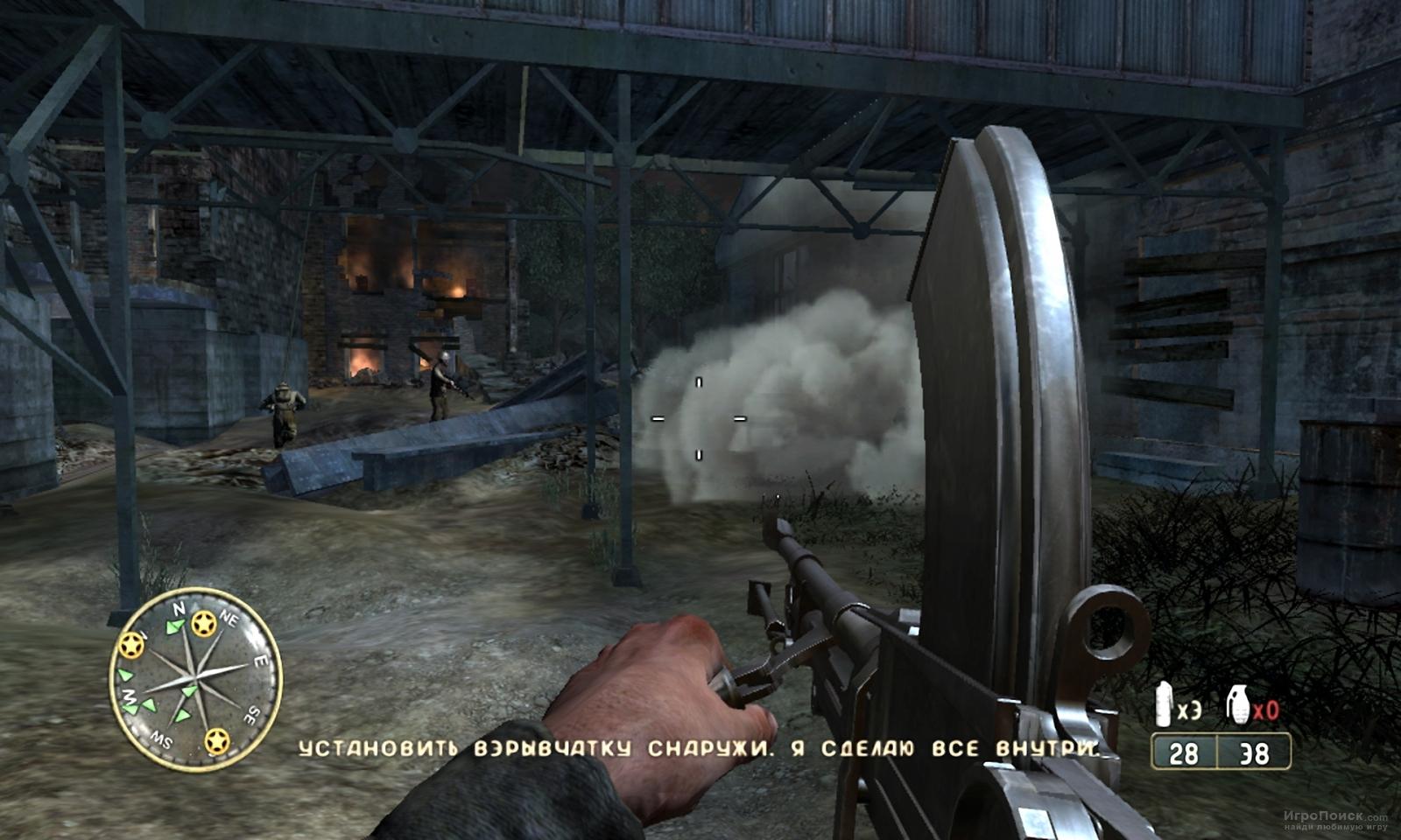 Скриншот к игре Call of Duty 3
