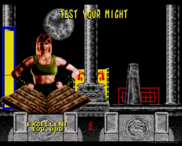 Скриншот к игре Mortal Kombat