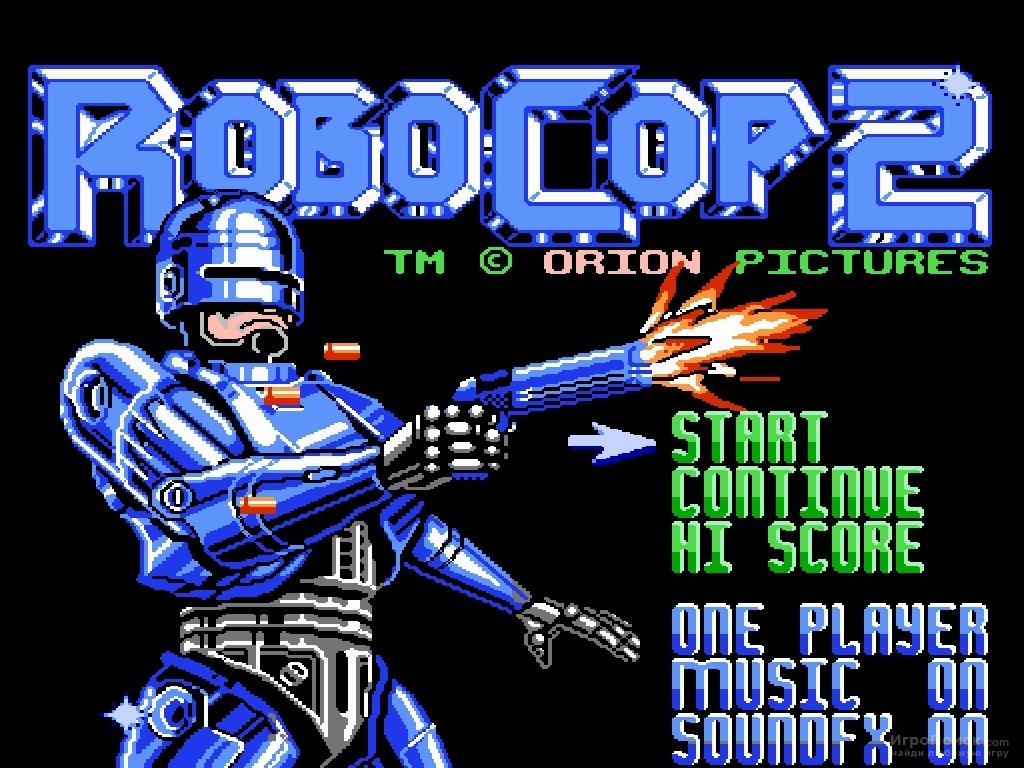 Скриншот к игре RoboCop 2