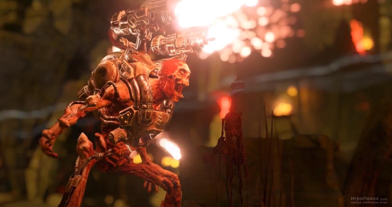 Скриншот к игре DOOM 2016