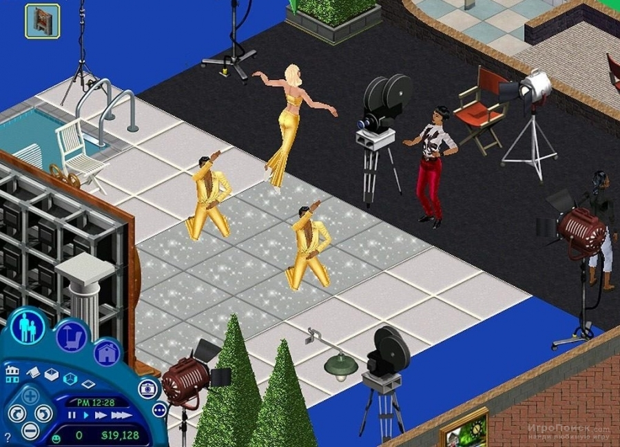 Скриншот к игре The Sims: Superstar