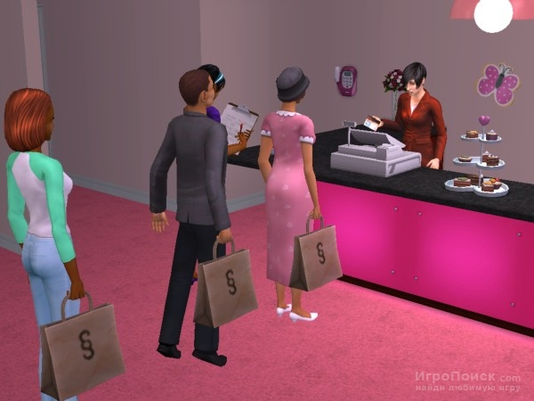 Скриншот к игре The Sims 2: Open for Business