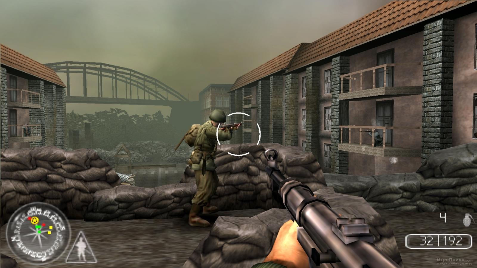 Скриншот к игре Call of Duty: Roads to Victory