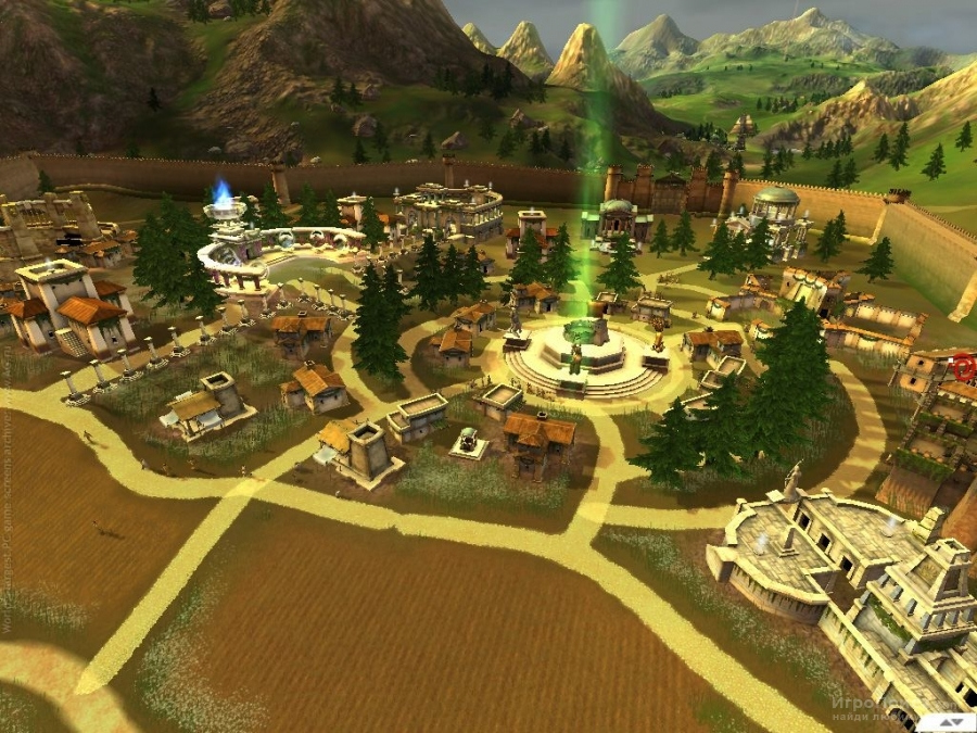 Скриншот к игре Black and White 2
