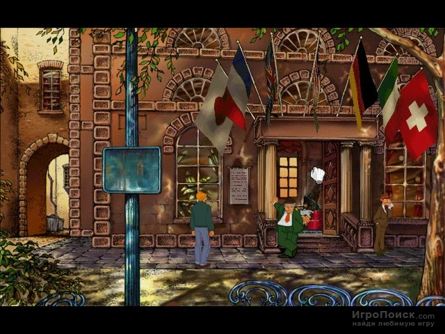 Скриншот к игре Broken Sword: The Shadow of the Templars