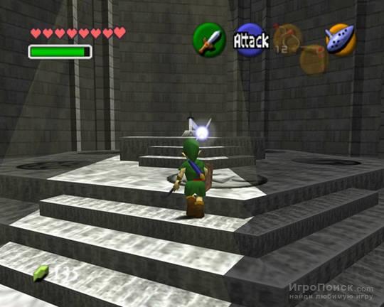 Скриншот к игре The Legend of Zelda: Ocarina of Time