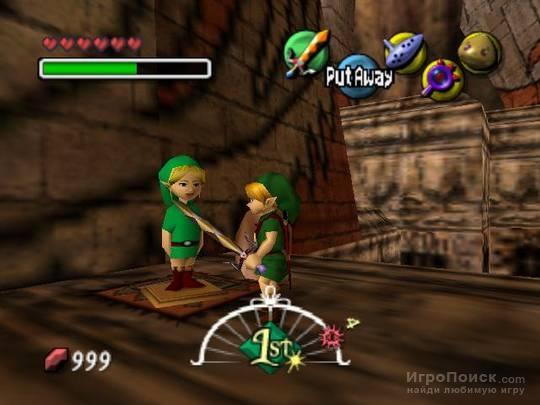 Скриншот к игре The Legend of Zelda: Majora's Mask