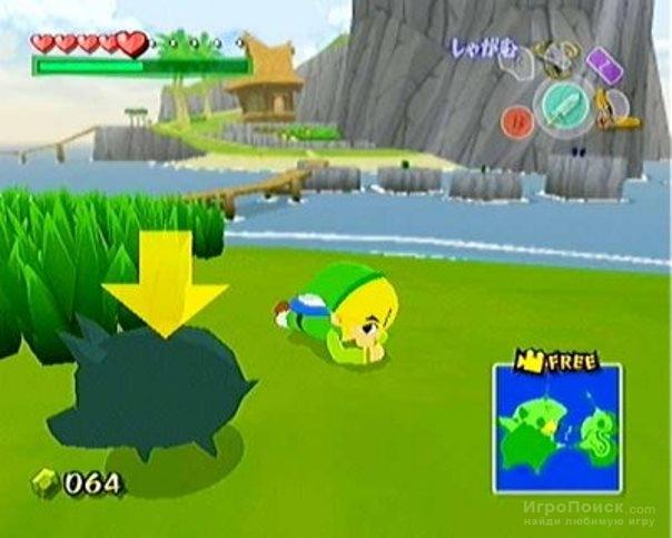 Скриншот к игре The Legend of Zelda: The Wind Waker