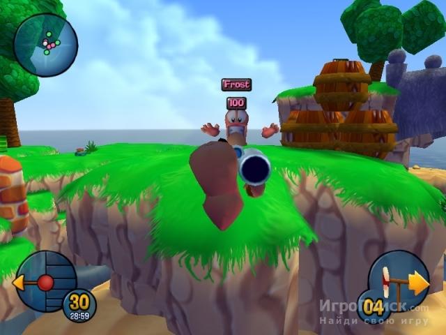 Скриншот к игре Worms 3D