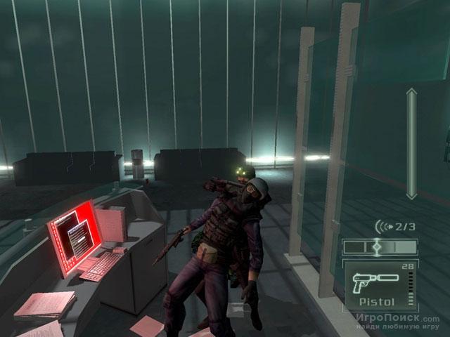 Скриншот к игре Tom Clancy's Splinter Cell: Pandora Tomorrow