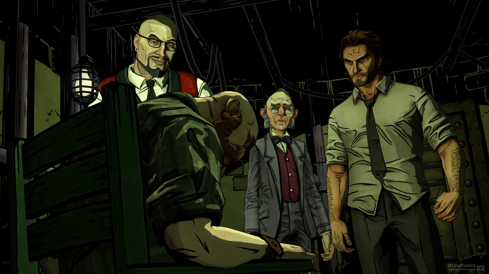 Скриншот к игре The Wolf Among Us