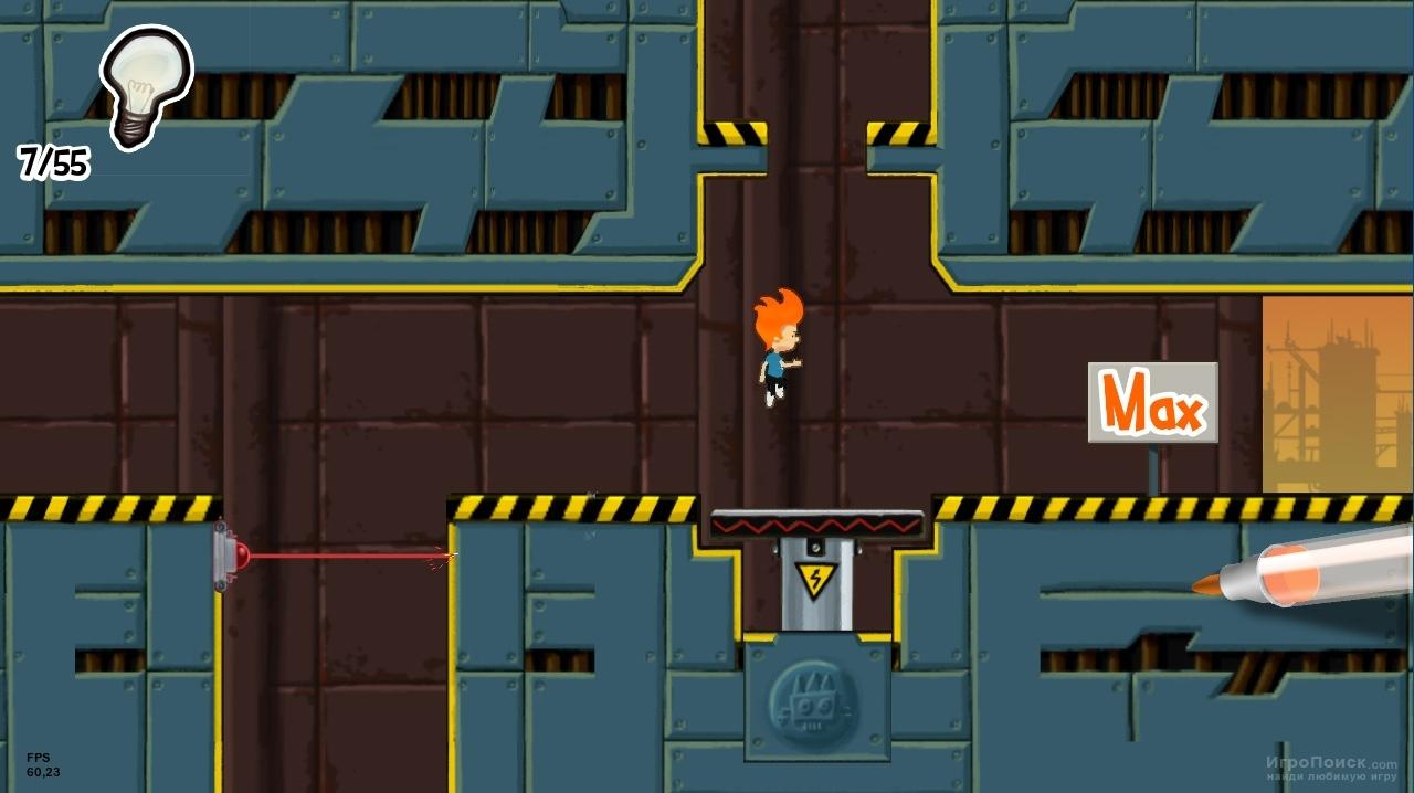 Скриншот к игре Max and the Magic Marker