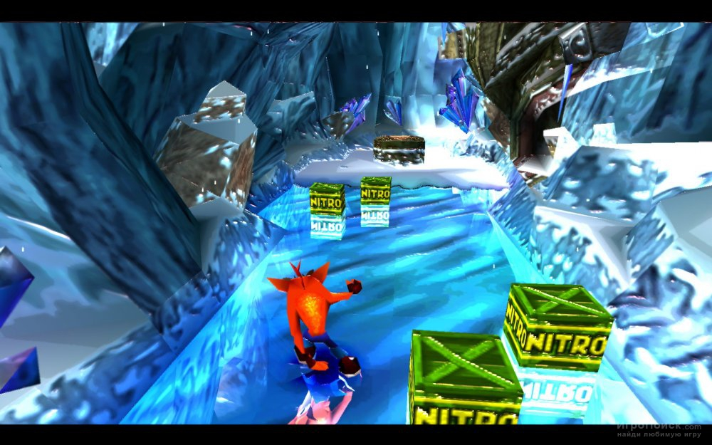 Скриншот к игре Crash Bandicoot 3: Warped