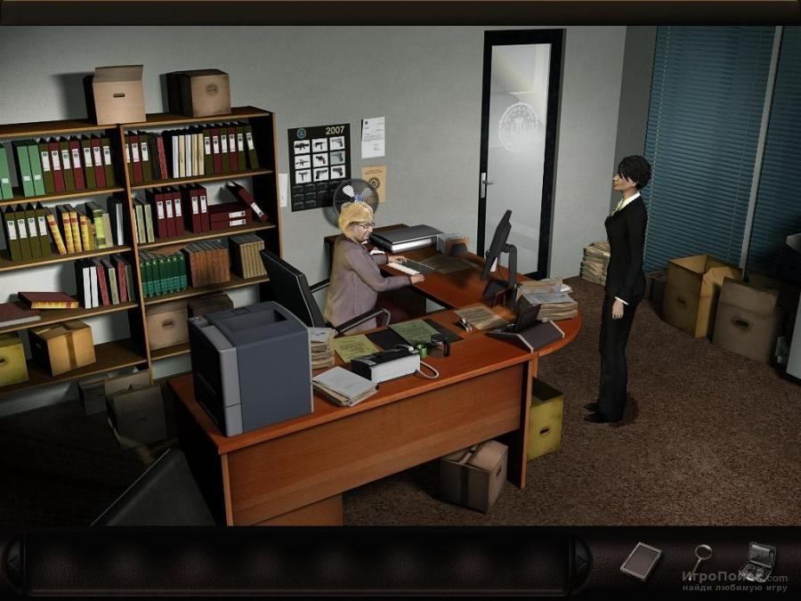 Скриншот к игре Art of Murder: FBI Confidential