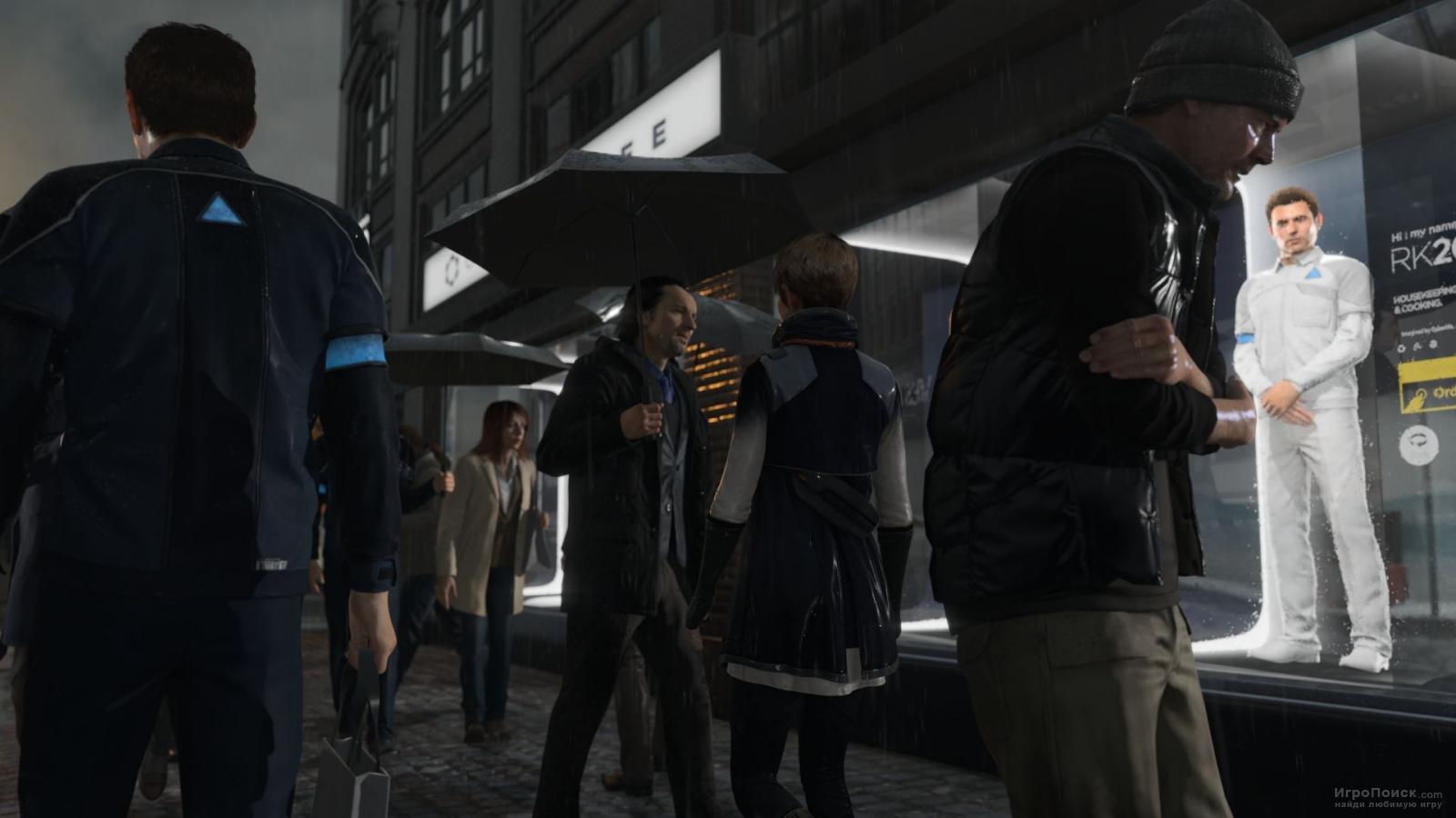 Скриншот к игре Detroit: Become Human