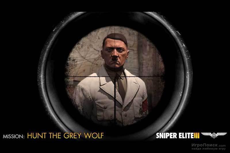 Скриншот к игре Sniper Elite 3 - Target Hitler: Hunt the Grey Wolf
