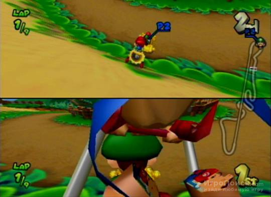 Скриншот к игре Mario Kart: Double Dash