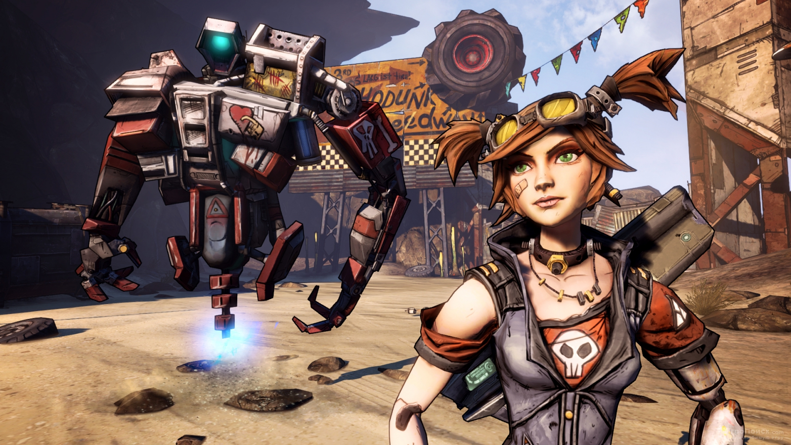 Скриншот к игре Borderlands 2: Captain Scarlett and Her Pirate's Booty