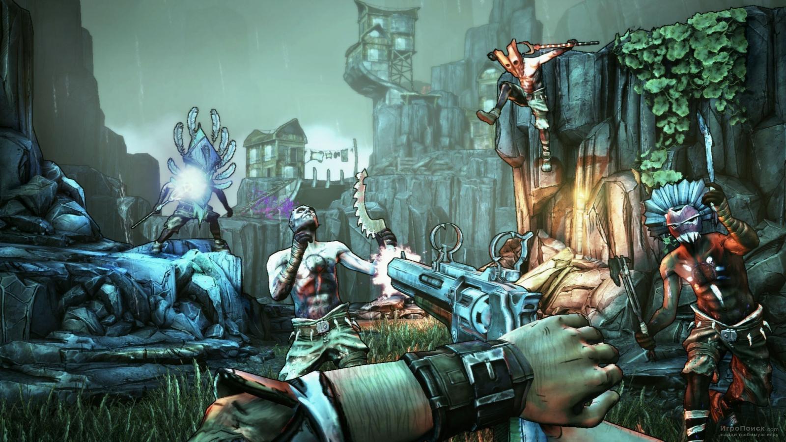 Скриншот к игре Borderlands 2: Sir Hammerlock's Big Game Hunt