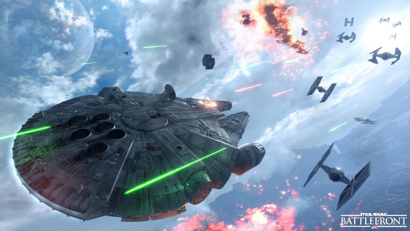 Скриншот к игре Star Wars: Battlefront 2015