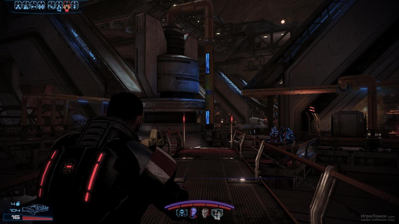 Скриншот к игре Mass Effect 3: Omega