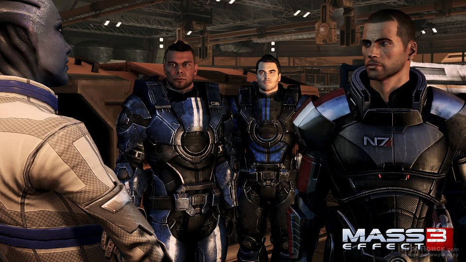 Скриншот к игре Mass Effect 3: From Ashes