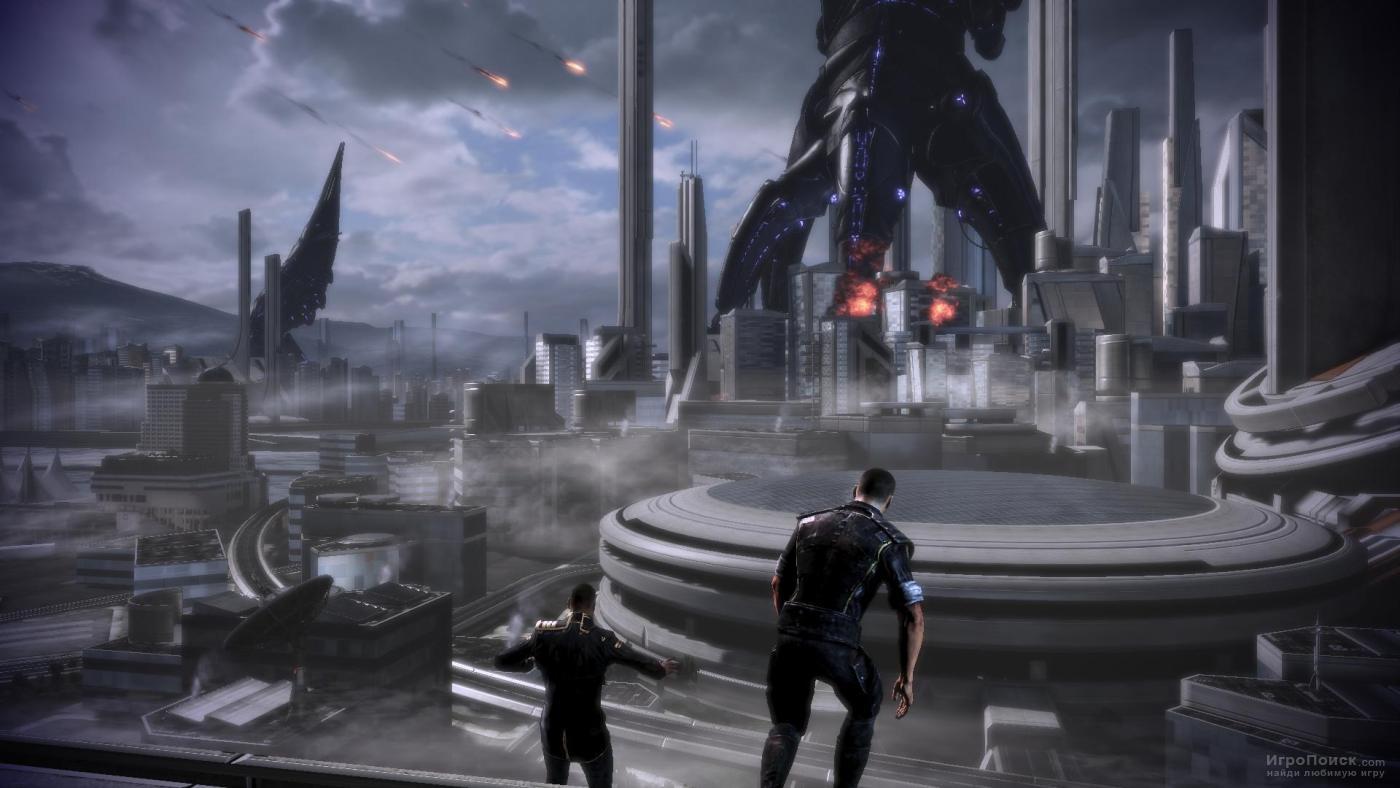 Скриншот к игре Mass Effect 3