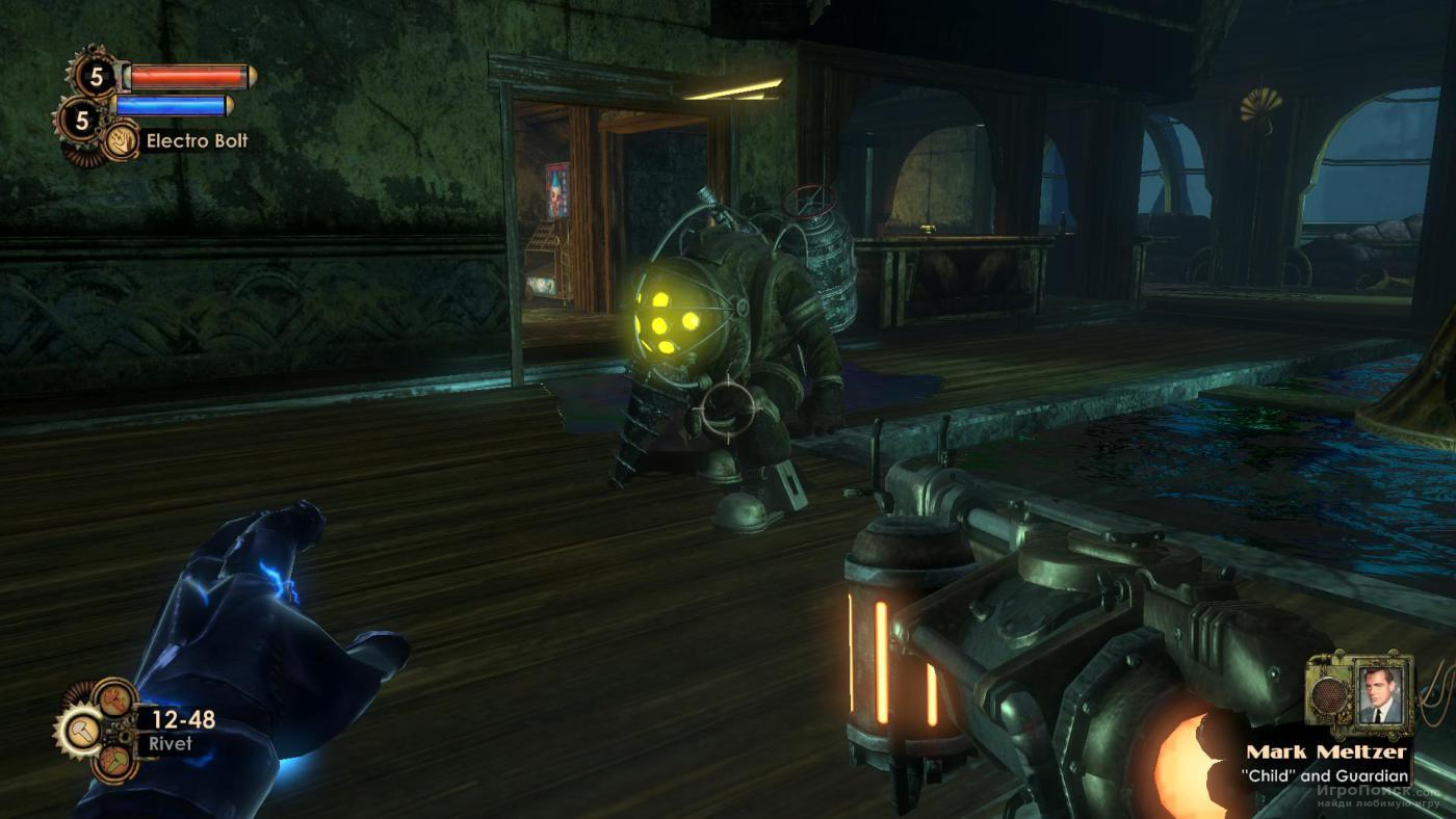 Скриншот к игре BioShock 2