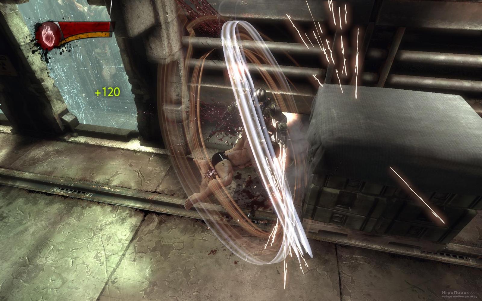 Скриншот к игре X-Men Origins: Wolverine