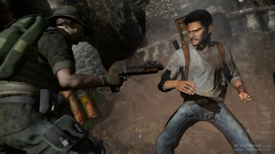 Скриншот к игре Uncharted: Drake's Fortune