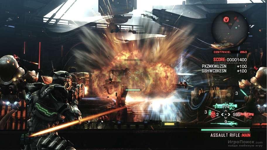 Скриншот к игре Vanquish