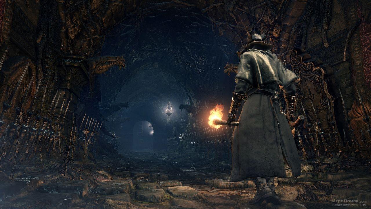 Скриншот к игре Bloodborne