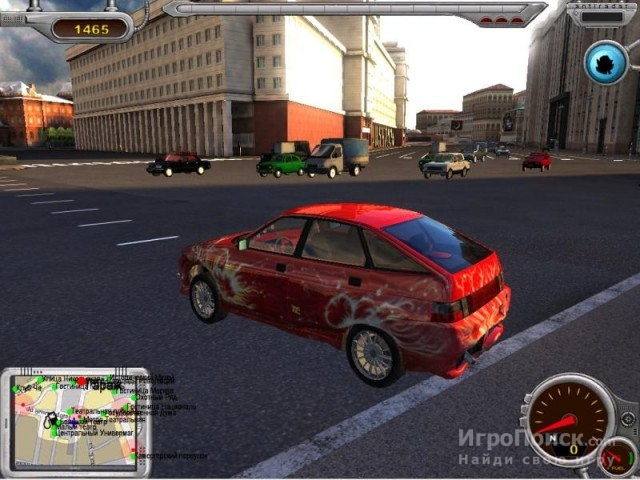 Скриншот к игре Moscow Driver