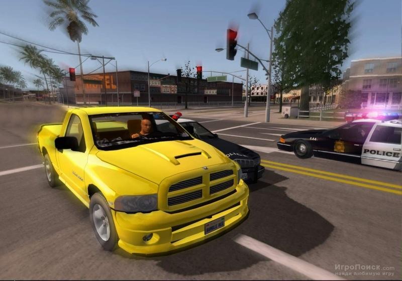 Скриншот к игре L.A. Rush