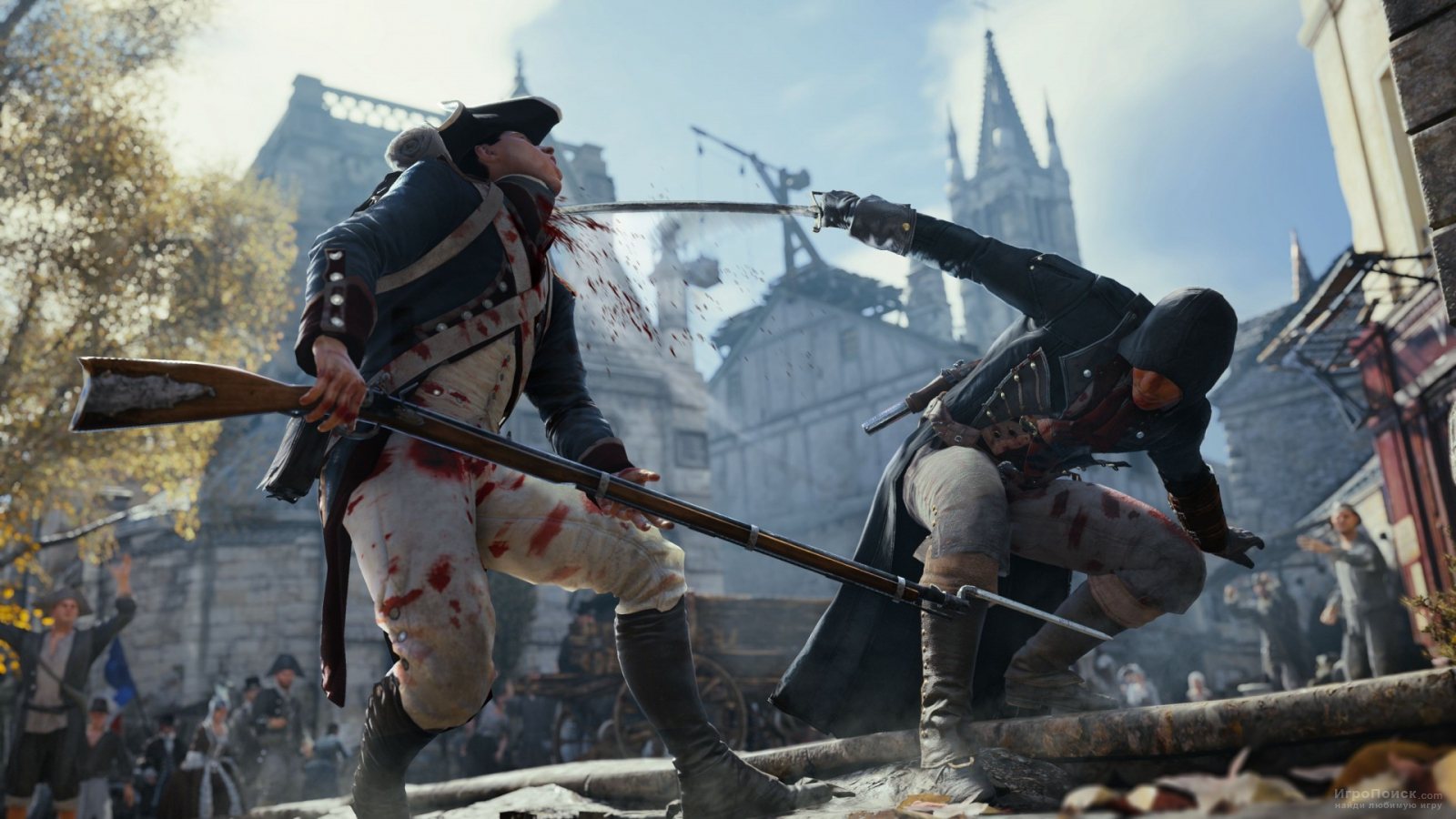 Скриншот к игре Assassin's Creed: Unity