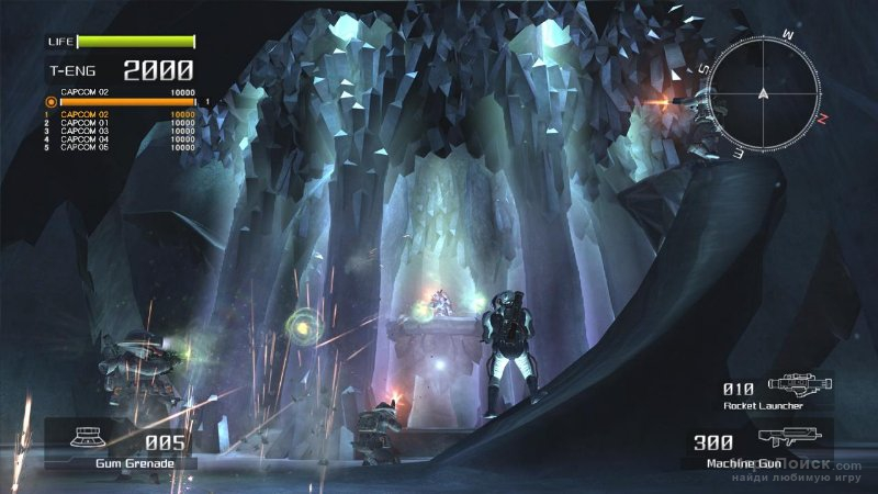 Скриншот к игре Lost Planet: Extreme Condition