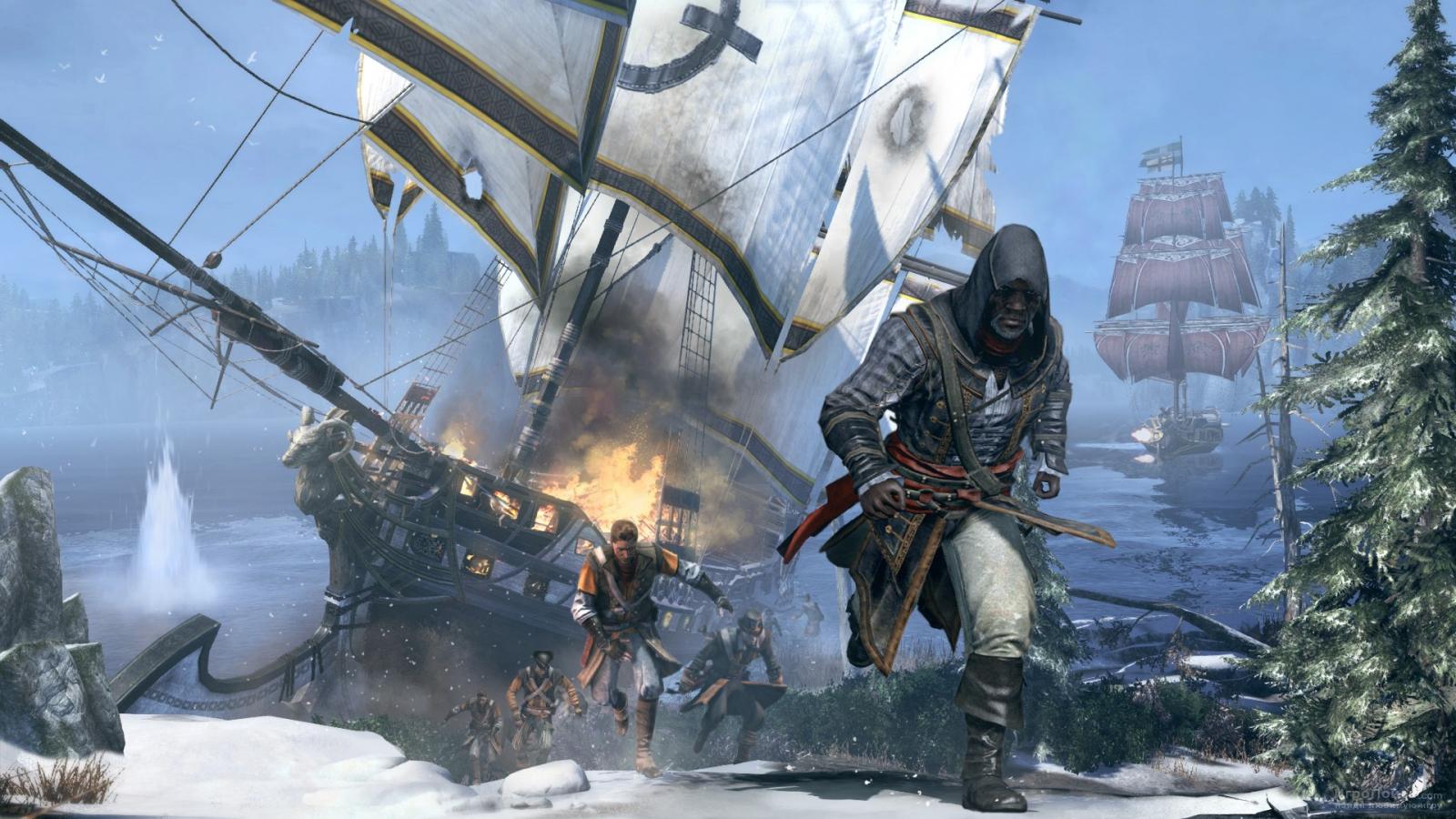 Скриншот к игре Assassin's Creed: Rogue