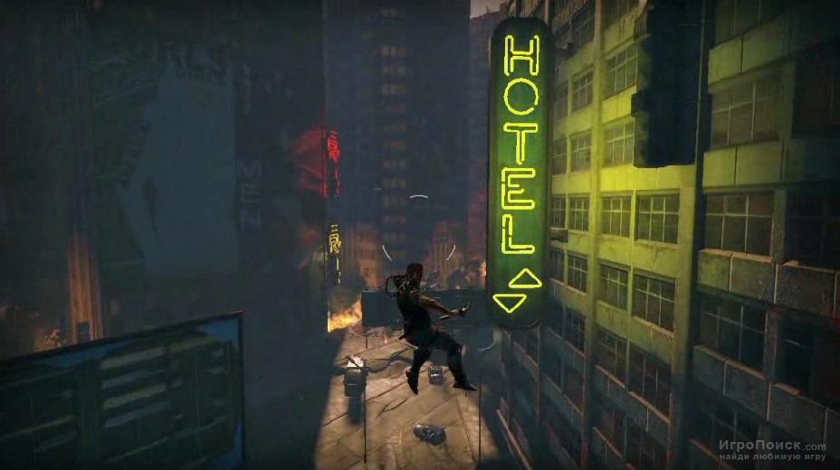 Скриншот к игре Bionic Commando 2009