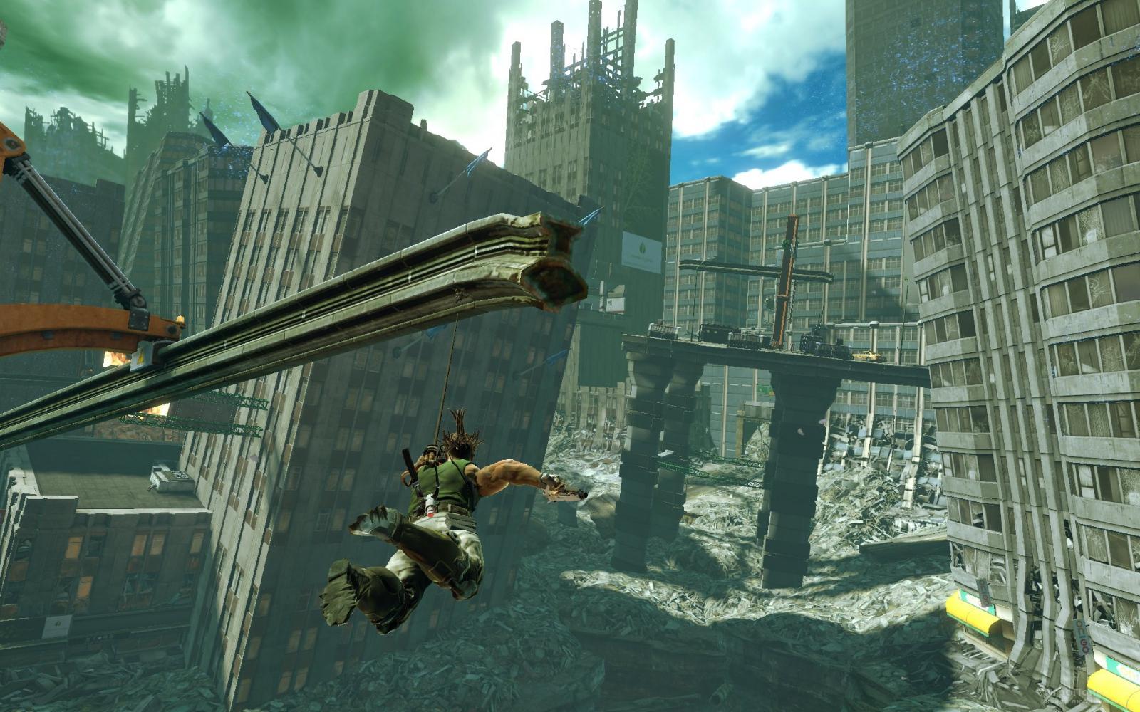Скриншот к игре Bionic Commando