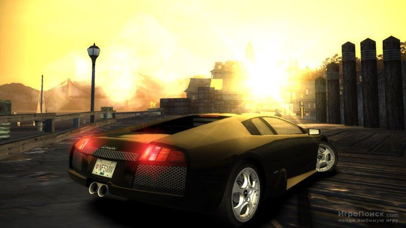 Скриншот к игре Need for Speed: Most Wanted