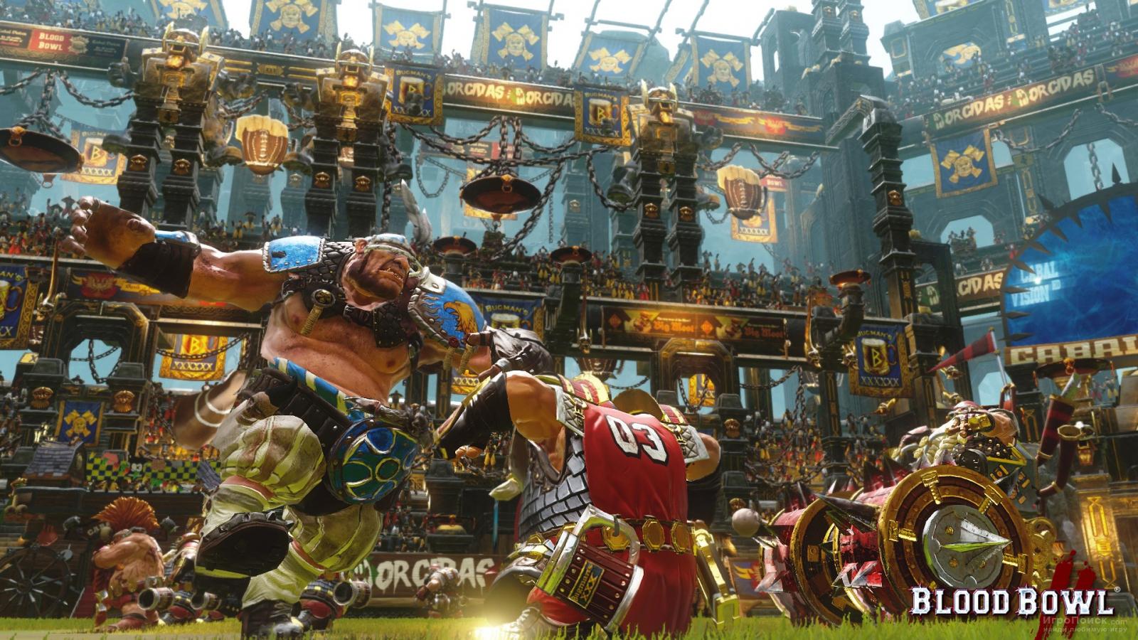 Скриншот к игре Blood Bowl 2