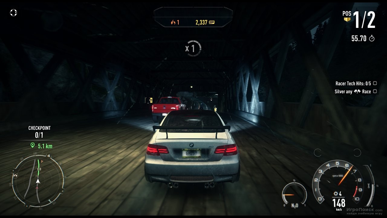 Скриншот к игре Need for Speed: Rivals