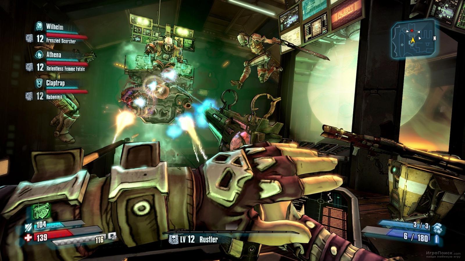 Скриншот к игре Borderlands: The Pre-Sequel