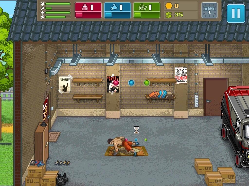 Скриншот к игре Punch Club