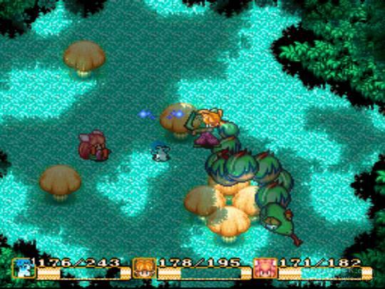 Скриншот к игре Secret of Mana