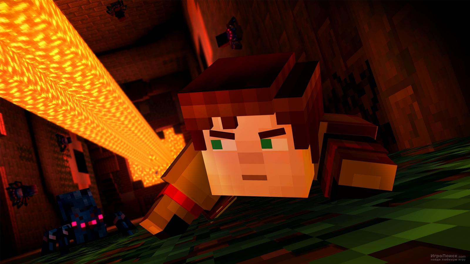 Скриншот к игре Minecraft: Story Mode - Episode 5: Order Up!