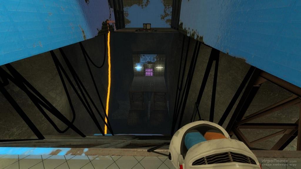 Скриншот к игре Aperture Tag: The Paint Gun Testing Initiative